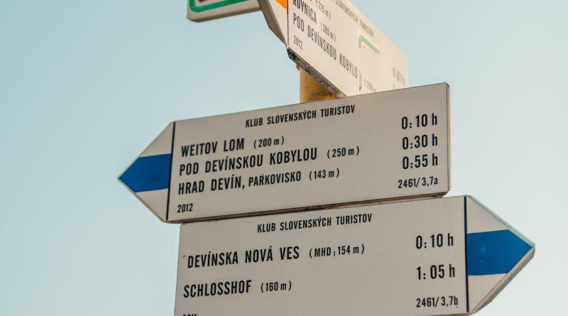 Turistické trasy v Devínskej Novej Vsi