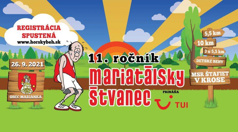 11. ročník behu Mariatálsky štvanec je tu